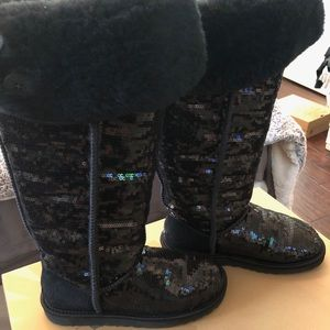 Bailey sequins ugg boots